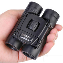 8X21 Binoculars Telescope BAK4 Professional High Power Zoom For Hunting Spyglass Eyepiece Night Vision Camping Tools
