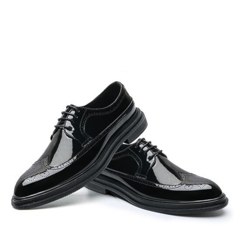 Black Luxo Vestido 736 756 Black Britânico Lace Brown Toe Outono Sapatos Yellow Gray Red Estilo Primavera 736 726 Homens Brogue 02a Couro Moda De 726 Black Casual 726 Apontou 706 up wnYxSCZHUq
