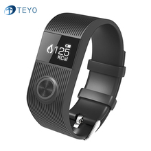 Teyo 2017New SX101 Bluetooth Smartband Фитнес Tracker Heart rate Monitor Будильник Спорт Умный Браслет для Android и iOS