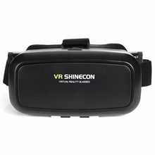 Shinecon VR 360 Video Immersive Virtual Reality 3D VR Headset Google Cardboard Games Glasses Compatible for iphone lg huawei htc
