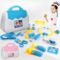 Doctor Toys  Children Similate pretend toys doctor game Kids Play House toys Doctor Set Medicine Box doctora juguetes toy girl