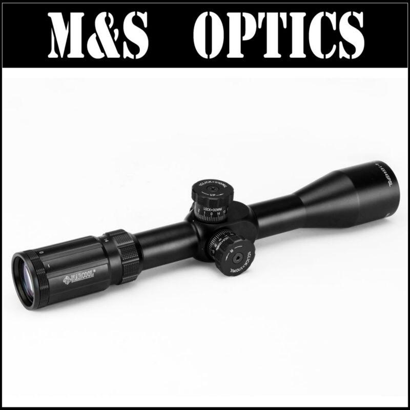MARCOOL EVV 4-14X44 SFL FFP sous 7.62 fusils à balles premier Plan de mise au point tactique chasse optique lunette de visée fabriqué en chine - 2