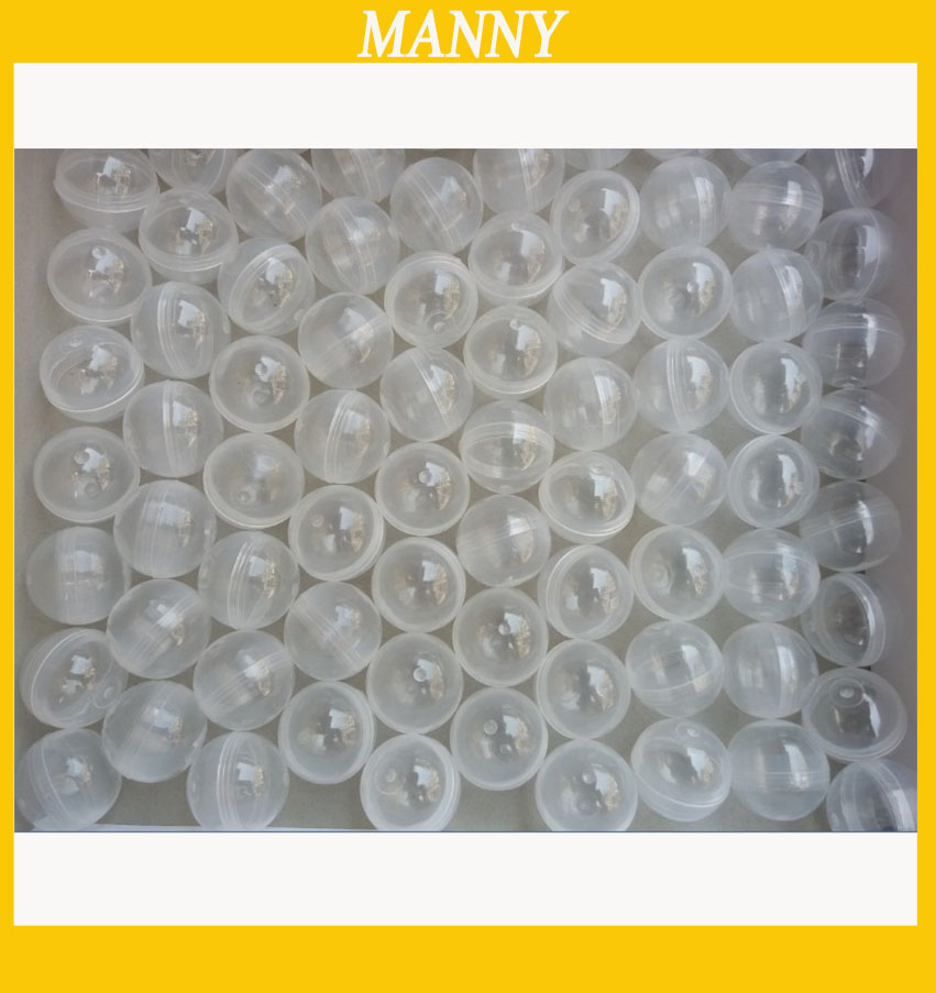 Mm empty plastic toy capsule ball for vending
