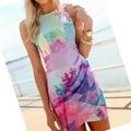 Hot Sexy Women Girl Sleeveless Floral Dress Ball Gown Party Beach Mini DressesYRD X09