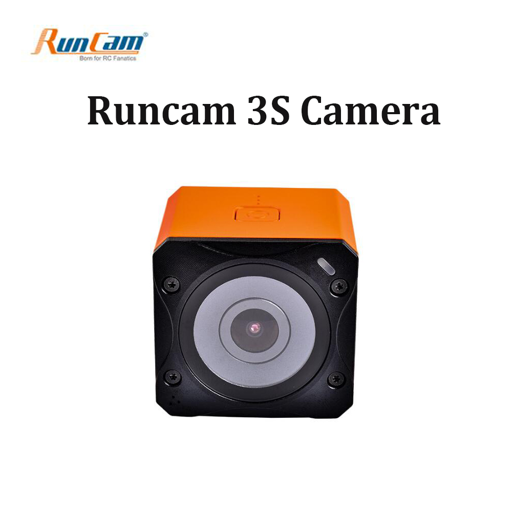 New Runcam 3S Runcam3s WIFI 1080p 60fps WDR 160 Degree FPV Action Camera Detachable Battery for RC Racing Drone runcam 3s wifi 1080p 60fps fpv action camera for rc racing drone