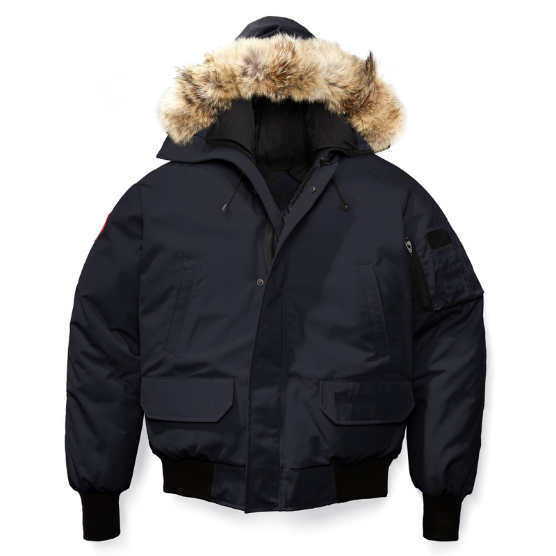 LEFT ROM 2018 Fashion High-end winter for men slim Fit keep warm Down jackets/men's Thickening hooded Casual coat XS-XXL
