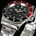2016 nueva moda de lujo SEWOR marca famosa diseño EJÉRCITO completo correa de acero mecánico automático de los hombres de negocios vestido reloj de pulsera de REGALO