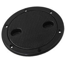 Cobertura de hatch para inspeção redonda, 4 Polegada acesso para barco e ferragem marinha placa de placa de cubita tablier