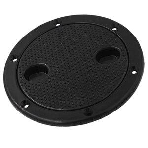 Image 1 - 4 Inch Access Hatch Round Inspection Hatch Cover For Boat & RV Marine Hardware Deck Plate La placa de cubierta tablier