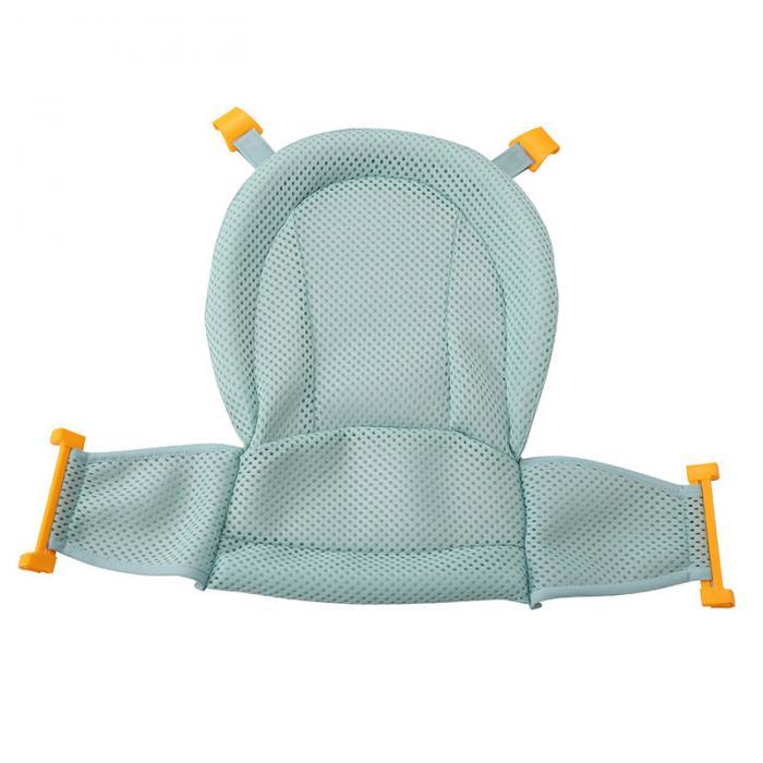 Bebê banho de malha assento suporte rede