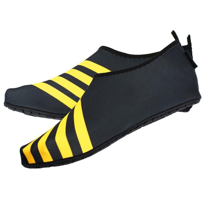 (M~3XL)Mesh Sandals For Men Skin Shoes Water Shoes Aqua Diving Sport Socks Pool Beach On ...