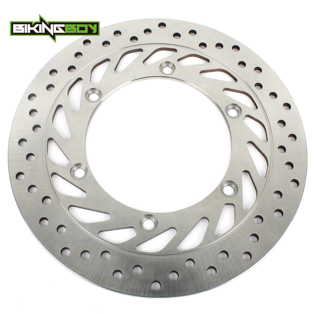 BIKINGBOY Motorcycle Front Left Brake Disc Rotor for Honda VT 750 VT750 Shadow ACE Aero Phantom Deluxe RS Spirit 97-12 98 99 00 motorcycle 16 5 cm saddle bag support bar mount bracket for honda shadow ace vt vt400 vt750