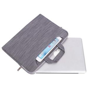 Image 2 - MOSISO Laptop Tasche Fall 15,6 15,4 13,3 Wasserdichte Notebook Schulter Taschen Frauen Männer für MacBook Air Pro 13 15 zoll computer Tasche