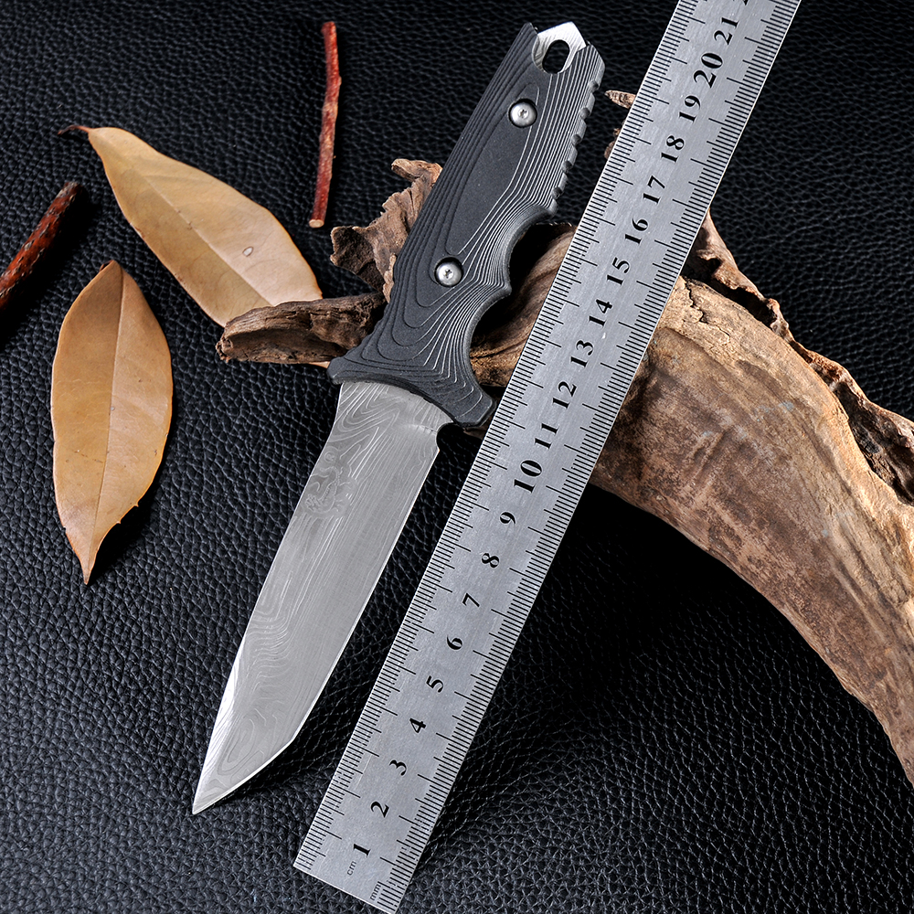 New Design High Quality Cold Steel Facas Navajas Fixed Blade font b Knife b font Survival