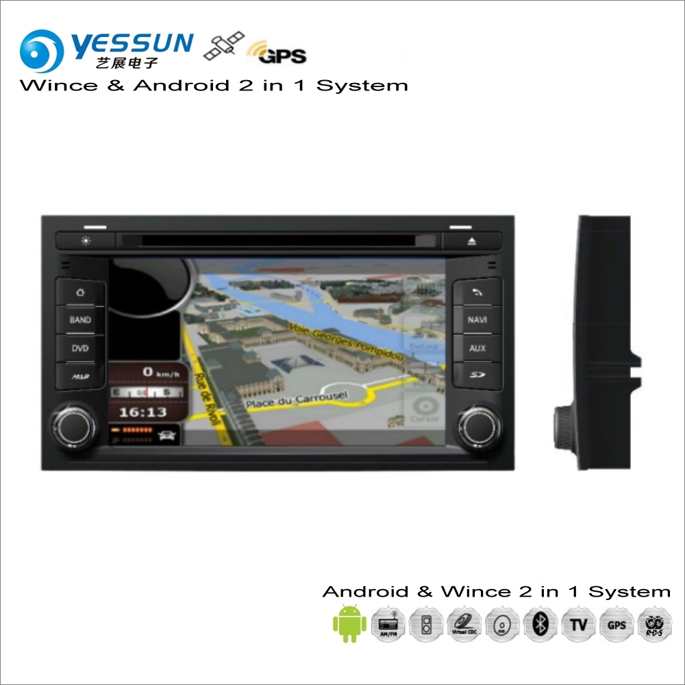 YESSUN For SEAT Leon MK3 2012~2014 Car Android Multimedia Radio CD DVD Player GPS Navi Map Navigation Audio Video Stereo System yessun for mazda cx 5 2017 2018 android car navigation gps hd touch screen audio video radio stereo multimedia player no cd dvd