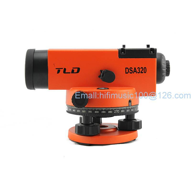 32X Automatic Dumpy Level 32X Automatic level Tripod 5M Staff Carry Case brand new 1 65m aluminum tripod 5m 5 section dumpy laser level staff for rotary laser level
