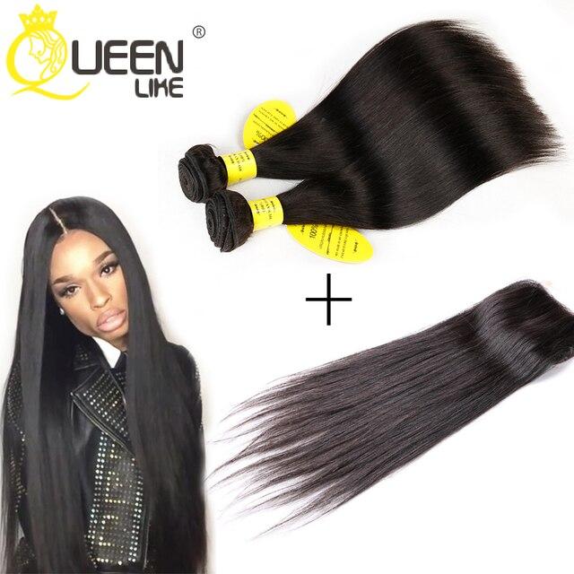 Brazilian Virgin Hair With Closure Brazilian Virgin Hair 3 Bundles Human Hair With Closure Brazilian Straight Hair With Closure