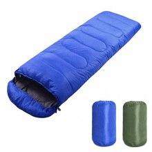 Портативный легкий конверт спальный мешок с компрессионным мешком для кемпинга пеших прогулок альпинизмом YS-BUY