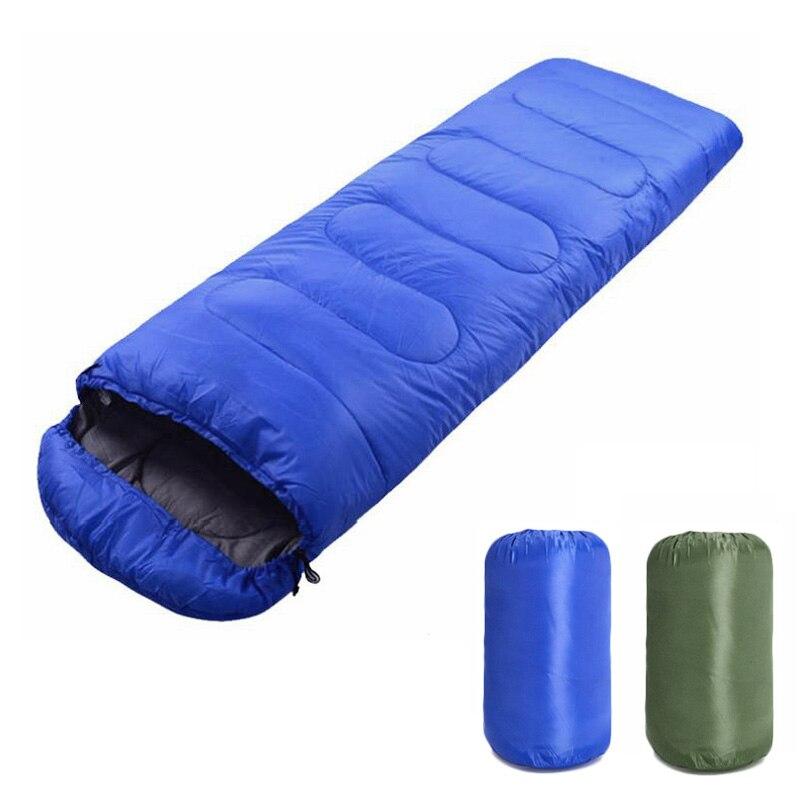 Портативный легкий конверт спальный мешок с компрессионный мешок для походная YS-BUY