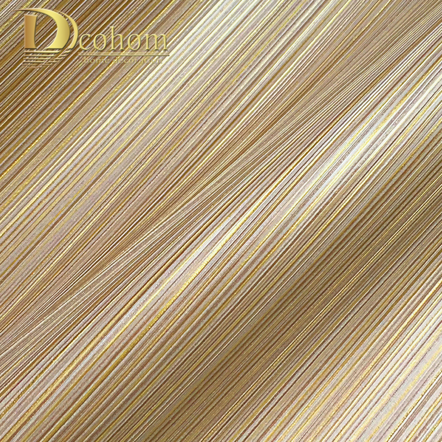Dcohom Modern 3D Grey Striped Wallpaper For Living Room Bedroom Hotel Room Walls Decor Minimalist Style Vinyl Wall Paper Rolls blue earth cosmic sky zenith living room ceiling murals 3d wallpaper the living room bedroom study paper 3d wallpaper