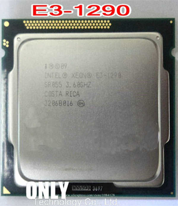 INTEL Original E3-1290 E3 1290 CPU Processor 3.6G 95 Watt LGA1155 scrattered pieces