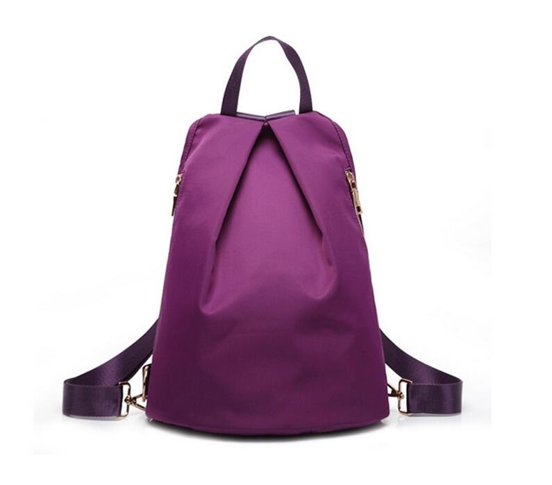 Hot Woman Waterproof Nylon Backpacks Bags Lady Women s Backpack mochila  Female Casual Travel Bags High School Bag JIE-022 c2e7cb7c44
