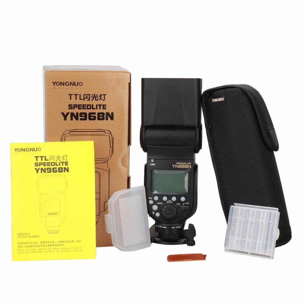 Ulanzi YONGNUO YN968N Wireless Flash Speedlite High-speed Sync TTL 1/8000 with LED Light for Nikon Compatible with YN622N YN560 yongnuo yn685 yn 685 беспроводной доступ в эти speedlite флэш построить в ttl приемник работает с yn622c yn622ii c yn622c tx yn560iv yn560 tx