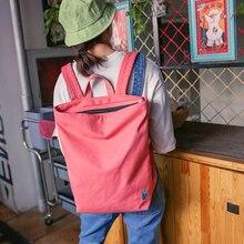 Новая повседневная женская обувь рюкзак холст корейский Школьные сумки Для женщин мультфильм печатных Рюкзаки Набор дорожный рюкзак для подростков miyahouse