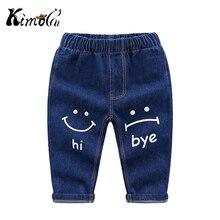 Kimocat Little Boys Kids Deinm Jeans Pants Children Toddler Clothing Trousers  Infant Baby Boy Clothes 12M- 4T 5T High Quality
