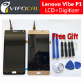 For Lenovo Vibe P1 LCD Display + Touch Screen 100% New FHD 5.5inch Digitizer Assembly Replacement For Mobile Phone