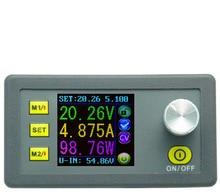 DP50V5A постоянной Напряжение Тестер измеритель тока ЖК-дисплей Дисплей вольтметр Шаг вниз программируемый Питание модуль амперметр