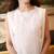 Mujeres dress plus size xl algodón de lino de la gasa maxi dress bordado color sólido o cuello largo dress blanco sin mangas del verano dress