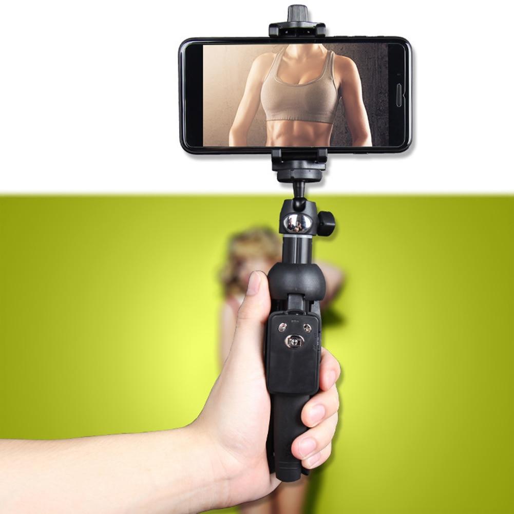 Universal Extendable Dual-Use Bluetooth Phone Selfie Stick Tripod Monopod Remote Shutter