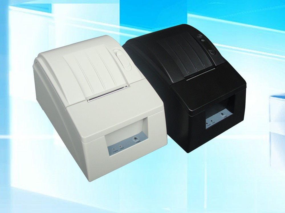 ФОТО USB Mini 58mm POS Printer 384 line Thermal Dot Receipt Printer Set With Roll Paper