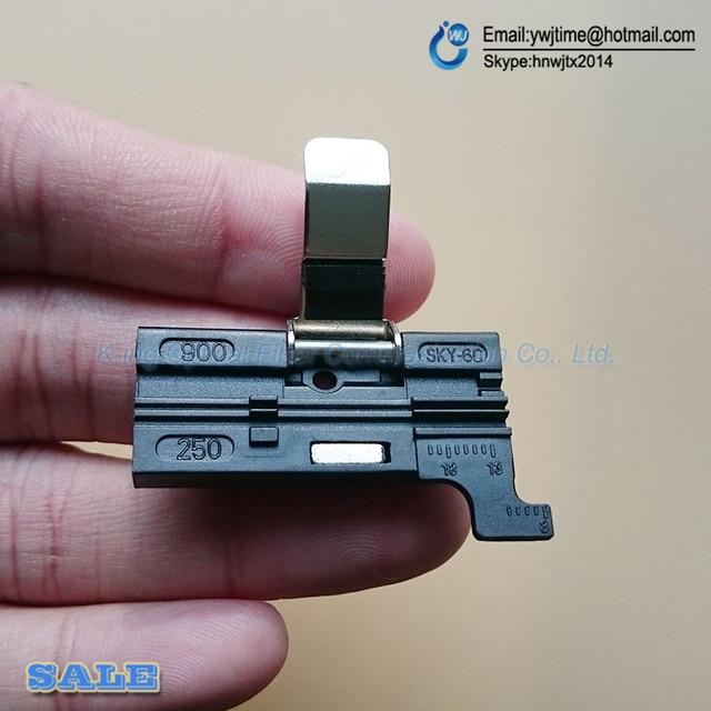 De calidad superior accesorio fiber cleaver CT-30 cleaver FTTH fibra holder para 0.25mm 0.9 MM 3 MM