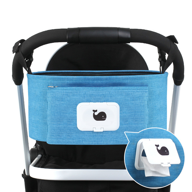 Infant Stroller Bag Whale Printed Baby Milk Bottle Container Mummy Diaper Bags Bolsa Infantil With Paper Opening Storage T0659 In From Mother