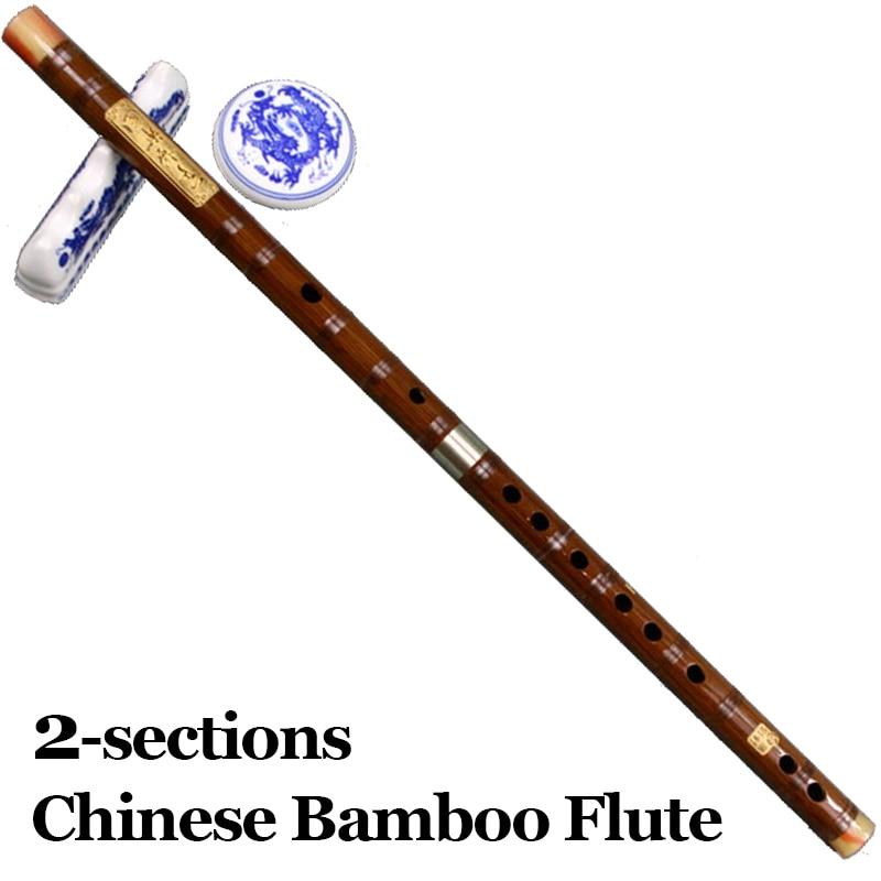 Chinese Bamboefluit Professionele Muziekinstrument Flauta Etnische - Muziekinstrumenten - Foto 2
