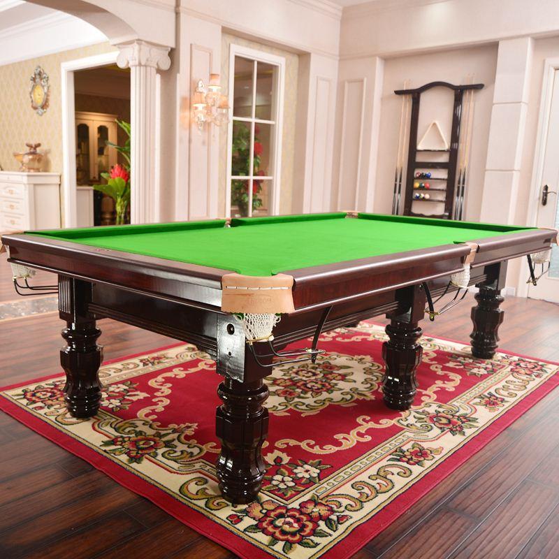American standard black eight billiard tables table tennis table adult household billiard table billiard case