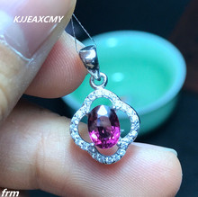 KJJEAXCMY boutique jewelry,Physical Photo 925 sterling silver inlaid natural magnesium aluminum garnet pendant chain zhhiry women jewelry sets natural red garnet gem stone genuine 925 sterling silver ring pendant chain