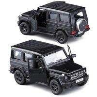 RMZ Matte Black 1 36 G63 E63 GLS63 AMG Toy Vehicles Alloy Pull Back Mini Car
