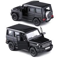 РМЗ матовый черный 1:36 G63/E63/GLS63 AMG игрушечных транспортных средств сплава отступить мини-автомобиль Реплика авторизоваться Оригинальные зав...