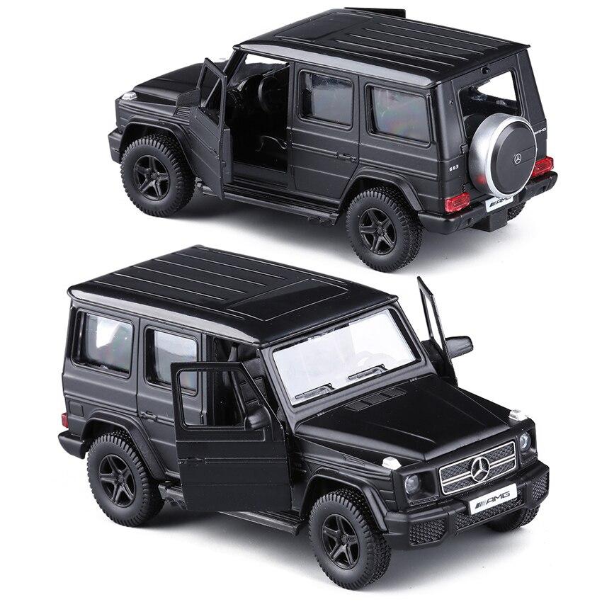 rmz matte black 1 36 g63 e63 gls63 amg toy vehicles alloy pull back mini car replica authorized. Black Bedroom Furniture Sets. Home Design Ideas