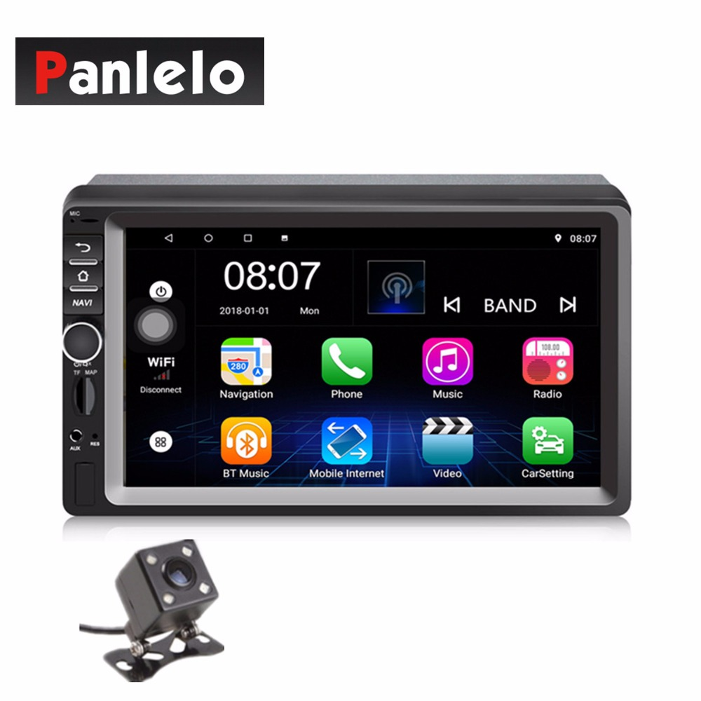 Panlelo 2 Din Head Unit Auto Radio GPS Navigation Car Stereo Android 6.0 Car Player with RDS Wi-Fi Mirror Link SWC For KiaPanlelo 2 Din Head Unit Auto Radio GPS Navigation Car Stereo Android 6.0 Car Player with RDS Wi-Fi Mirror Link SWC For Kia