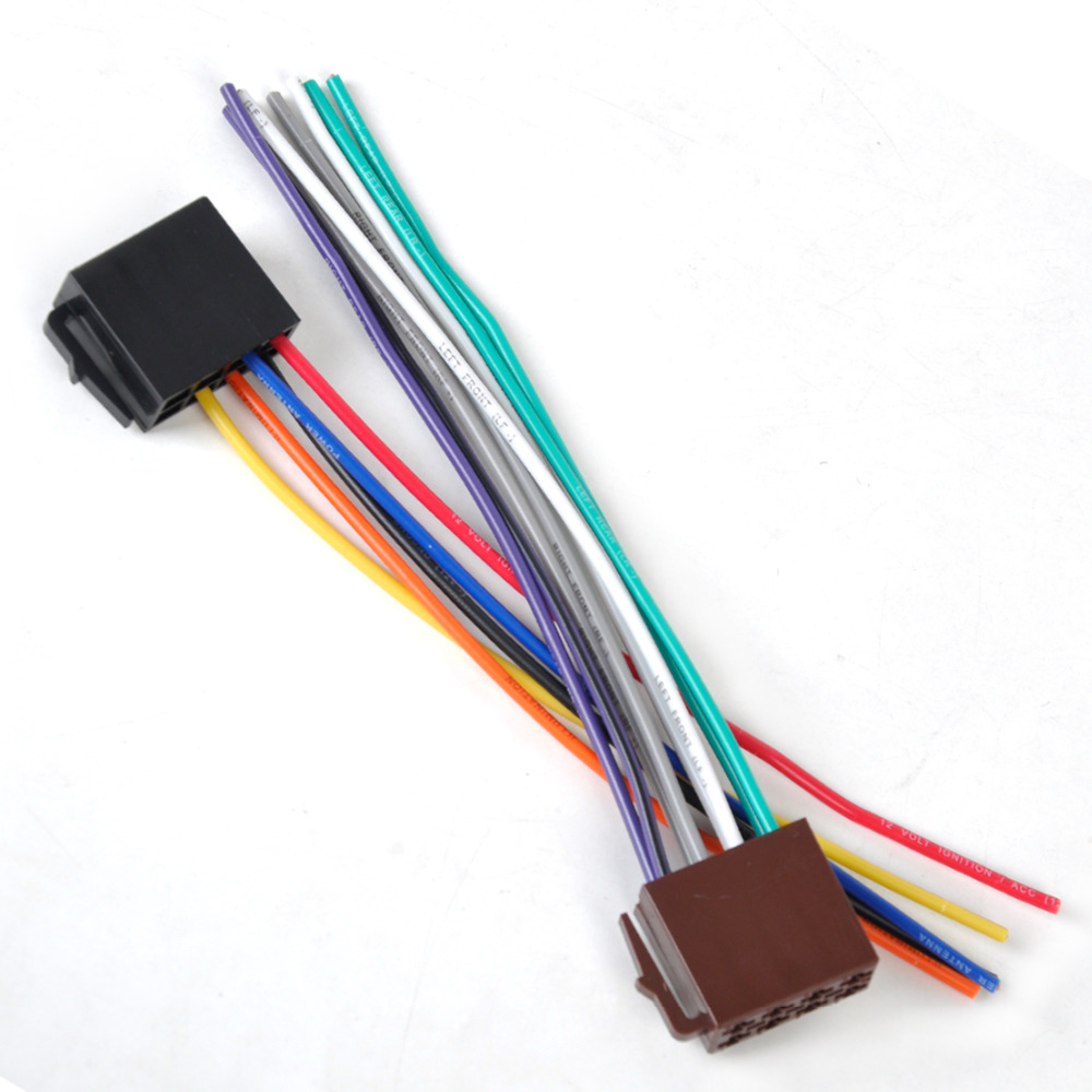 compare prices on honda wiring harness online shopping buy low universal iso wire harness female adapter connector cable for car stereo system for vw golf beetle