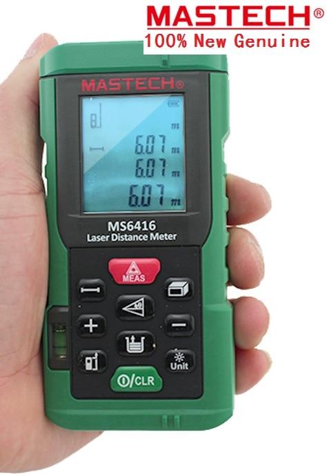 2017 New MASTECH MS6418 Laser Distance Meter 80M Distance Measure Digital Range Finder With Bubble level