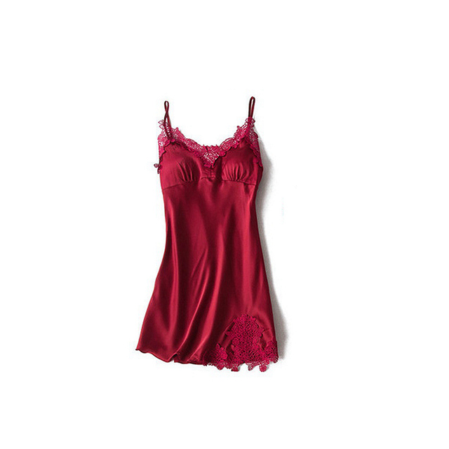 Robe and gowns set embroidery Sexy Pajamas Sets Satin Nightwear Women Nighties pyjama femme sleepwear sets silk dress pink lace