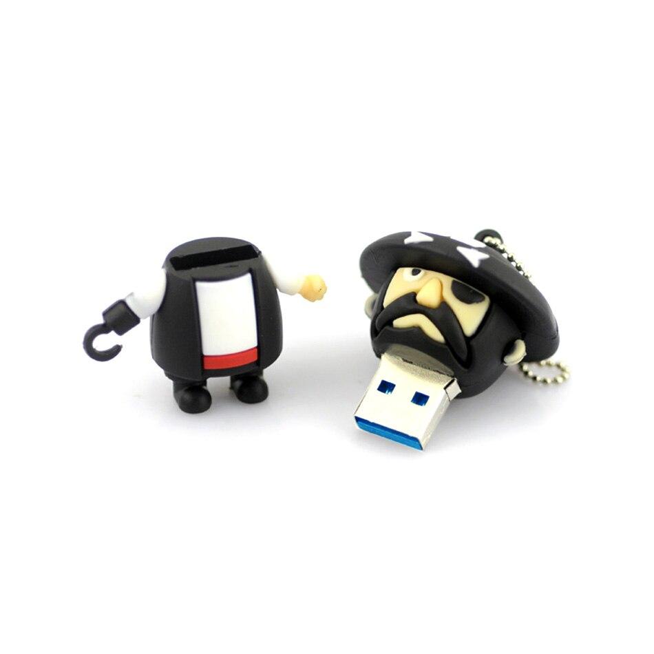 High speed usb 3.0 flash drive,64GB Pirate usb flash drive memory pendrive stick 32GB/16GB/8GB Pen Drive Memory Stick/Flash Gift