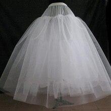 Горячая распродажа платье-линии нет- обруч чистая кринолайн / нижняя юбка / Underskirt / Peticoat