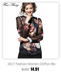 188cd8fe65 Huashang Women Work Wear Office Shirt Long Sleeve Plus Size Women Tops