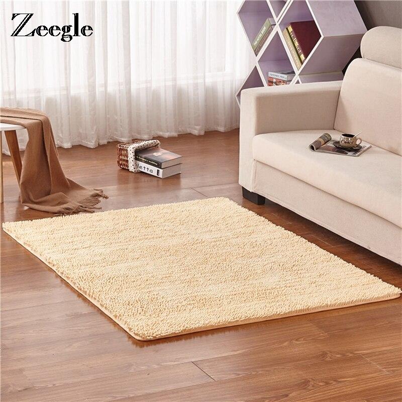 Zeegle Kindergarten Carpets Rugs For Kids Bedroom Coffee Table Floor Mat Soft Washable Rugs Bedroom Kids Play Mat